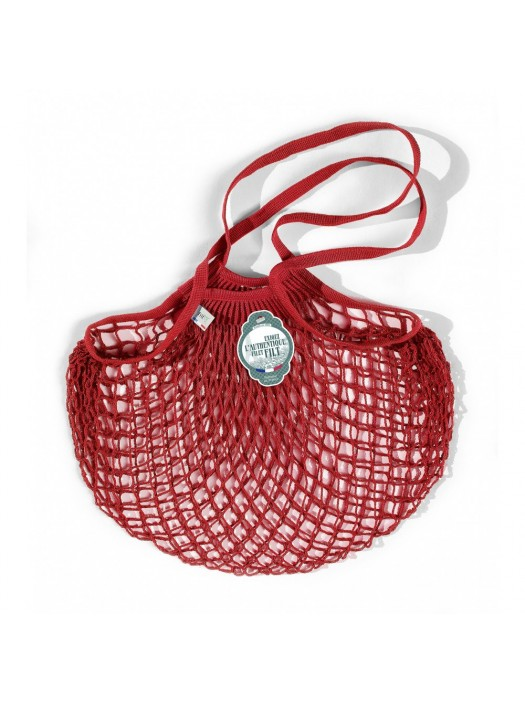 Shopping String Bag Red