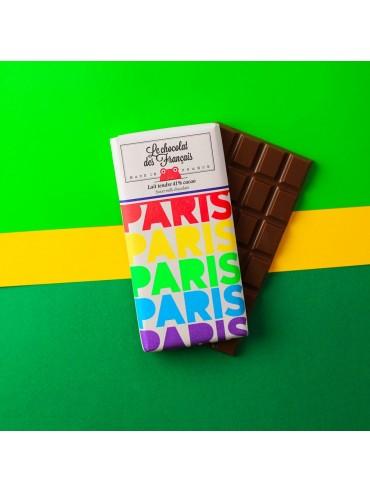Milk Chocolate Bar Paris Rainbow - Organic