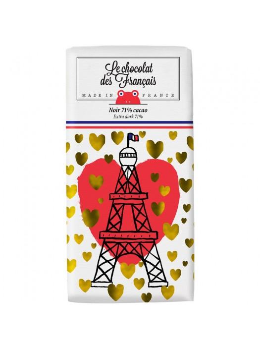Tablette de Chocolat Noir Paris Or