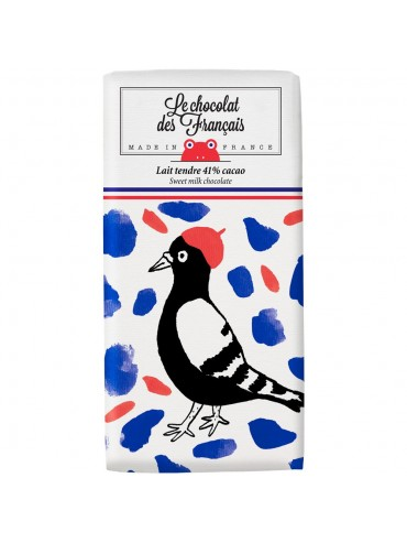 Milk Chocolate Bar Bird - Organic
