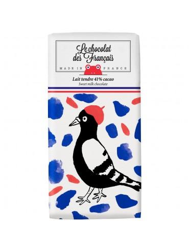 Tablette de Chocolat Lait Oiseau - Bio