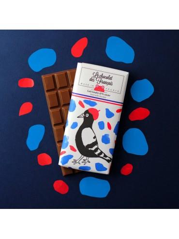 Milk Chocolate Bar Bird - Organic