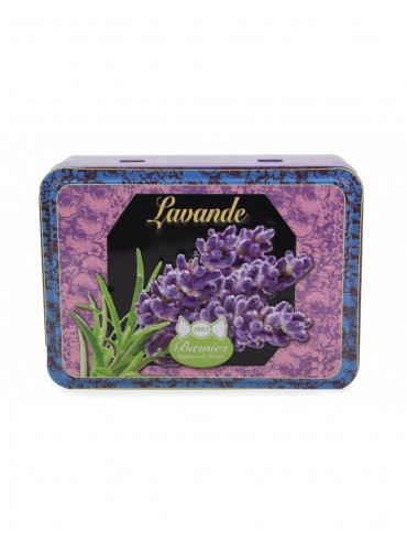 Lavender Candies - Metal Box