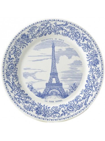 Faience Mini plates - The Paris Monuments - Gien