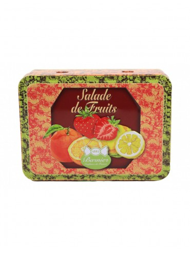 Fruit Candies - Metal Box -...