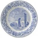 Assiettes en Faïence - Gien Monuments de Paris