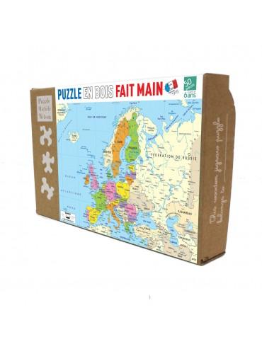 Puzzle Enfants 50 pièces Carte Europe