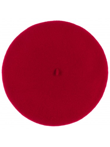 Authentic French Beret Red