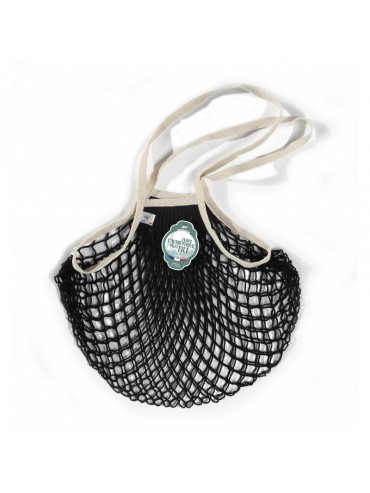 Shopping String Bag Back and Ecru