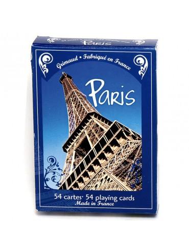 Jeu de 55 cartes : Métro de Paris