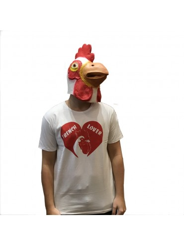 100% Cotton T-Shirt - French Rooster