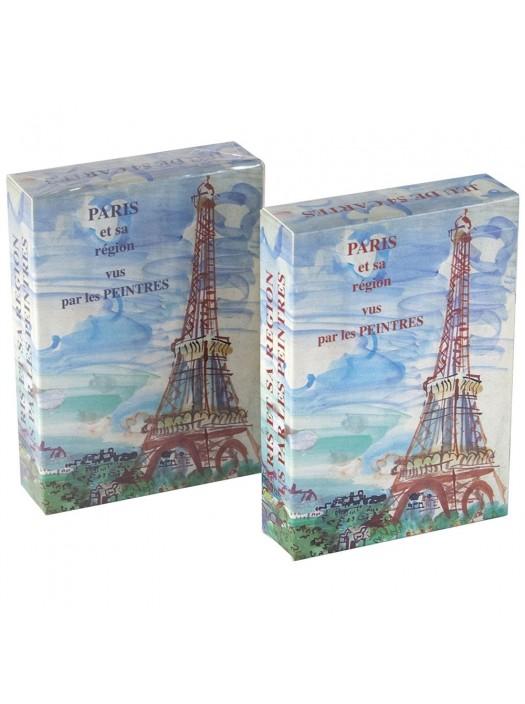 Jeu de 54 cartes : Paris et sa Région vus par les Peintres