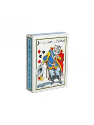 Jeu de 54 cartes : Images d'Épinal