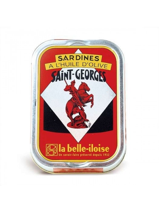 Sardines à l'huile d'olive vierge extra St Georges