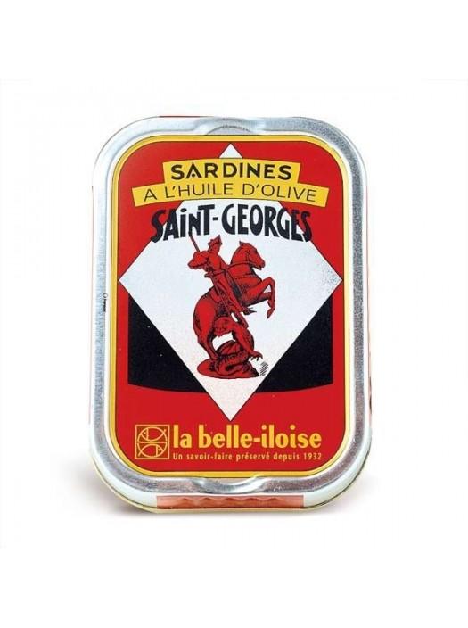 Sardines à l'huile d'olive vierge extra St Georges