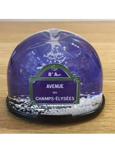 Boule à Neige Boule à Neige Champs Elysées Made in France