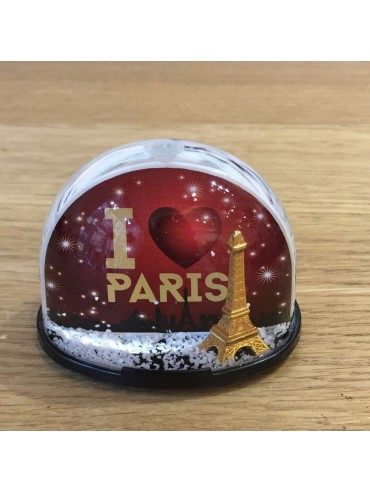I love Paris Snow Globe