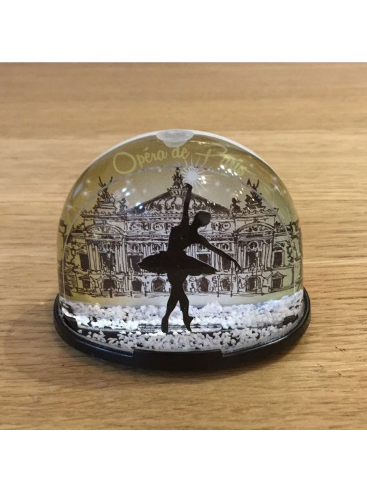I love Paris Snow Globe Made in France