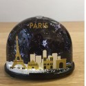 Parisian Monuments Snow Globe Made in France