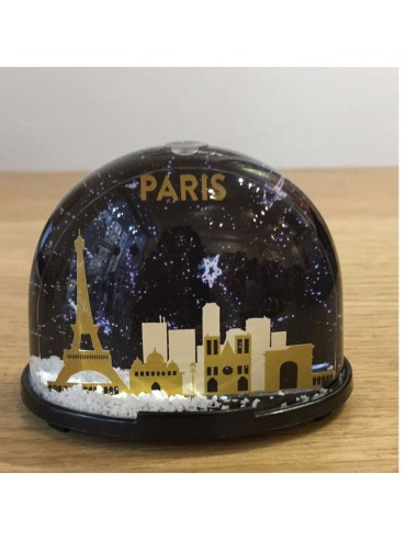 Parisian Monuments Snow Globe