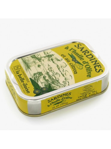 Sardines in Extra Virgin Olive Oil and Lemon