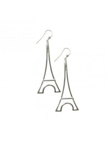 Grandes Boucles d'Oreilles Tour Eiffel