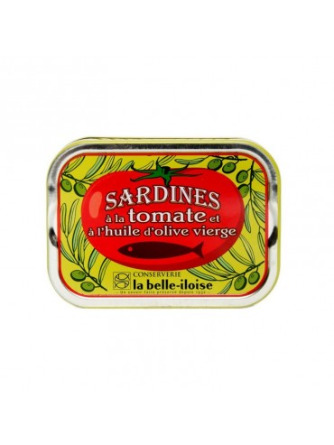 Sardines in Extra Virgin Olive Oil and Tomatoes
