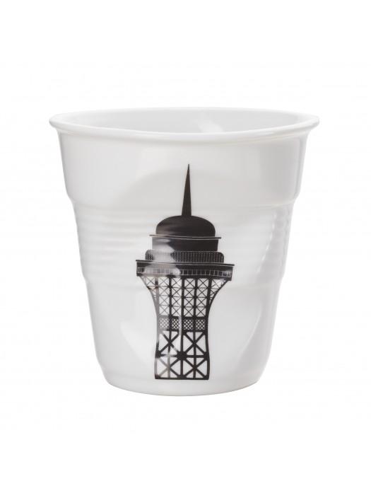 Gobelet Froissé Porcelaine Revol Eiffel Tower 18 cl