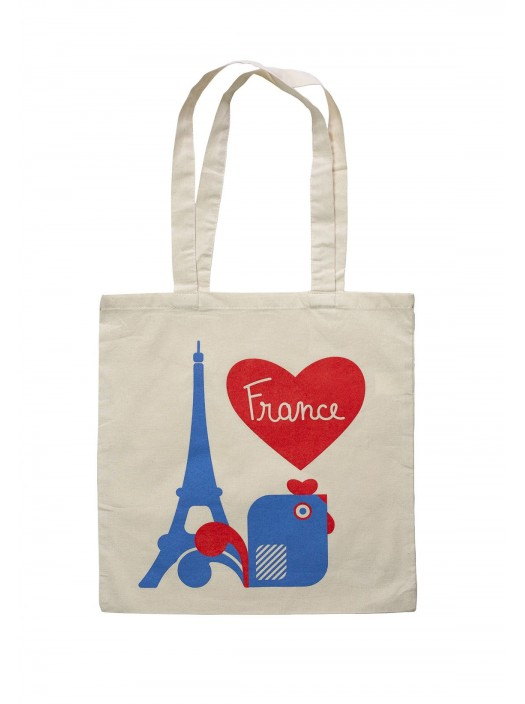 Tote Bag French Rooster
