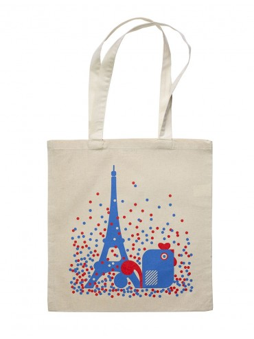 Tote Bag Eiffel Tower