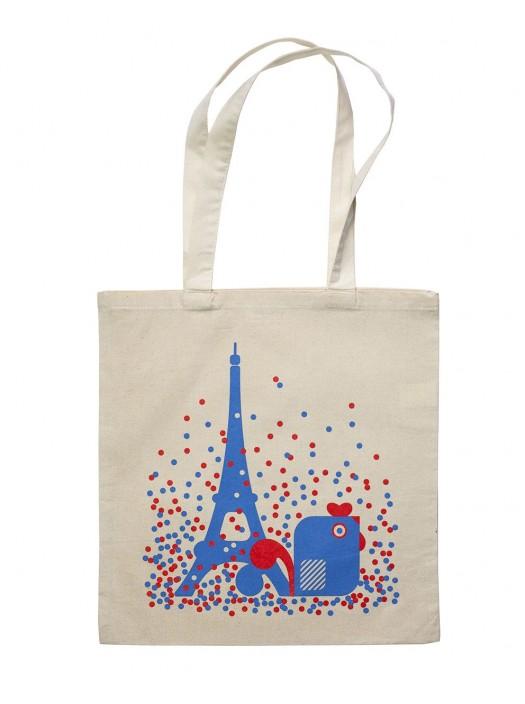Tote Bag Eiffel Tower