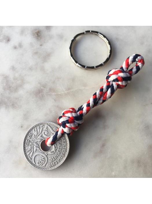 Dernier Sou Keychain  - Rope