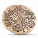 Médaille Monnaie de Paris Monuments Parisiens