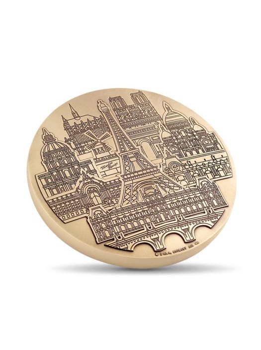 Parisian Monuments Medal from Monnaie de Paris