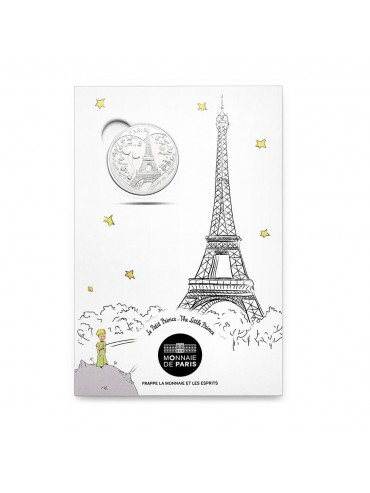 Petit Prince Postcard with Mini-Medal