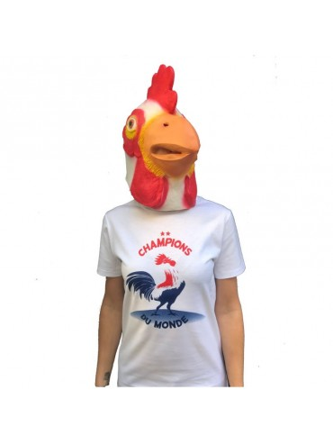 100% Cotton T-Shirt - French Lover Rooster